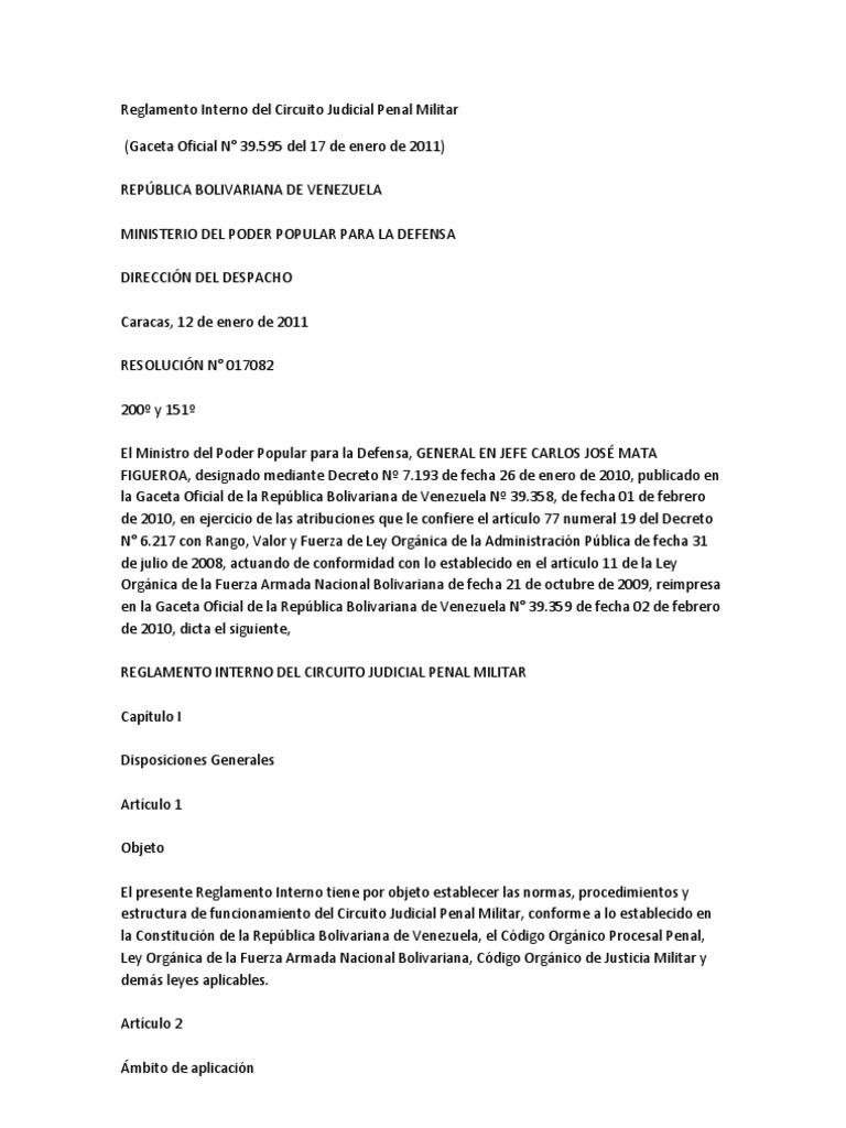 Circuito Judicial Penal : Derecho procesal penal venezolano calendario de febrero del