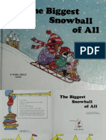 The Biggest Snowball Of All Englishare