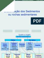 Classificacao de rochas sedimentares