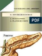 Estudio del Páncreas