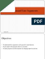 3.7 Command-Line arguments