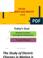 Lecture 1 - CURRENT ELECTRICITY