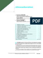 Nitruration, Nitrocarburation et Dérivés