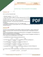 Sujet de révision N°1 (Corrigé) - Maths - Bac Sciences (2009-2010) Mr Abdelbasset  Laataoui  www.espacemaths.com