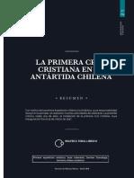 """Chile, """"La primera cruz cristiana chilena en el Territorio Antártico (1947)"""""""