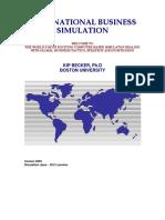 Simulation Manual version 2012