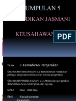 KSSR Pendidikan Jasmani_Standard Kandungan 1.1