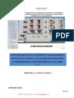NOTICE DE SECURITE CENTRE COMMERCIAL A AMADAHOME  2020.docx