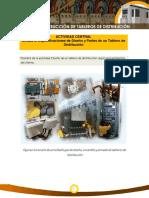 ACTIVIDAD CENTRAL Unidad 2. Especificaciones de Diseño y Partes de un Tablero de Distribución
