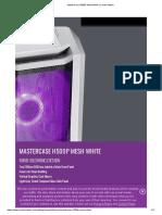MasterCase H500P Mesh White _ Cooler Master