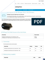 Printer Specifications for HP Officejet 7610, 7612 Printers _ HP® Customer Support