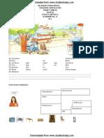 CBSE Class 8 German Worksheet (12)