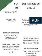 CIRCLE FLASHCARD