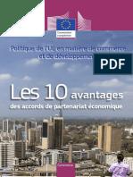 10 benefits of Economic Partnership Agreements (EPAs)