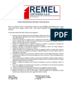 CARTA DE DESIGNACION VIGIA SSTA