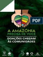 Boletim Informativo A Amazônia precisa de você