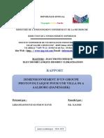 Dimensionnement GPV