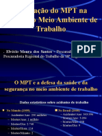 MPT e o Meio Ambiente