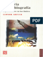 Arfuch, Leonor. - Memoria y Autobiografía [2013]