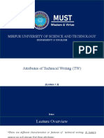 lectures-Technical  Writing and Presentation Skills.pptx