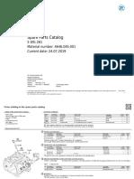 Part List 4646 045 001 ZF