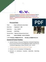 DR MAGDY CV  english