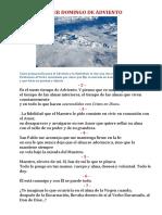 PRIMER DOMINGO DE ADVIENTO.docx