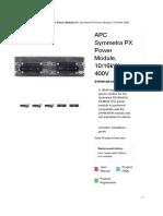 APC Symmetra PX Power Module, 10_16kW, 400V-APCThailand.pdf