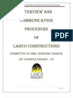 37718760-Lanco-Interview-Process