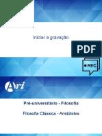 Pré-vestibular - 4 - Aristóteles