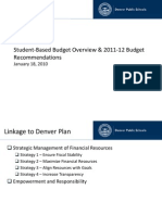 4.01 - 2011-12 Budget Recommendation