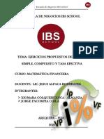 EJERCICIOS DE INTERES SIMPLE-COMPUESTO Y TASA EFECTIVA-convertido
