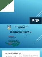 PROTECCION PERSONALSEGURIDAD