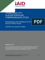 USAID_LAND_TENURE_SURGE_TAGBILARAN_CITY_SLAUGHTERHOUSE_COMPREHENSIVE_STUDY