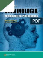 Criminologia, elementi Di Criminalistica - Francesco Bruno