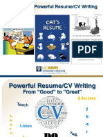 Powerful-Resume-CV-Writing-PPT-Reading-Version