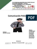 Comunicación Policial