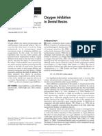 Oxygen Inhibition in Dental Resins.pdf