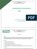 20. COD. LC-30 -TRD DE LABORATORIO