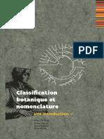Classification Botanique et Nomenclature