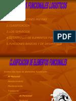 elementos funcionales logisticos