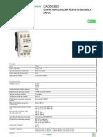 Relé de controle TeSys_CAD503BD