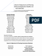 August P&Z With Proposed Ammendments