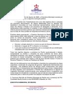Resolução Política Da Executiva Municipal Do Recife