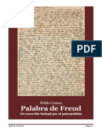 Palabra de Freud-Un recorrido textual por el psicoanálisis.Pablo Cazau