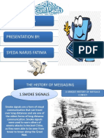 EMAIL WRITING BY SYEDA NARJIS FATIMA