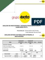 Presentacion Analisis e Indicadores Grupo Exito