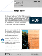 BRE Digest 361, Why do buildings crack