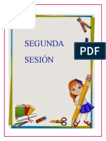 SEGUNDA SESIÓN