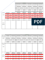 Review Time Table 28 July 02 August 2020 Senior Wing
